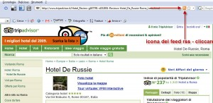 icona feed rss tripadvisor firefox