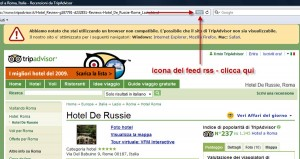 icona feed rss tripadvisor safari