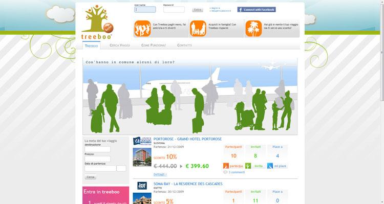 Treboo Social Network per viaggi di gruppo