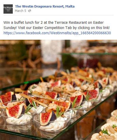 facebook per hotel