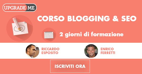 corso di Blogging e SEO