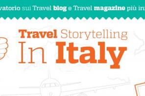 Travel Storytelling in Italia, l'infografica sui migliori blog e magazine