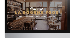 Web Marketing per Ristorante Giapponese La Dogana Food