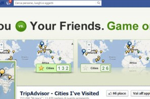 Tripadvisor e Facebook, il viaggio è sempre più social